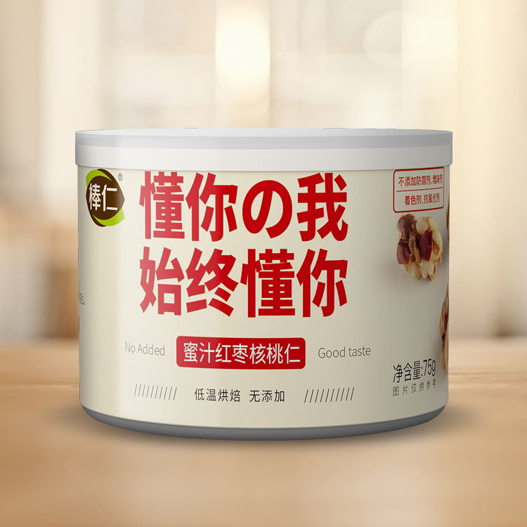 蜜汁红枣核桃仁100g罐装