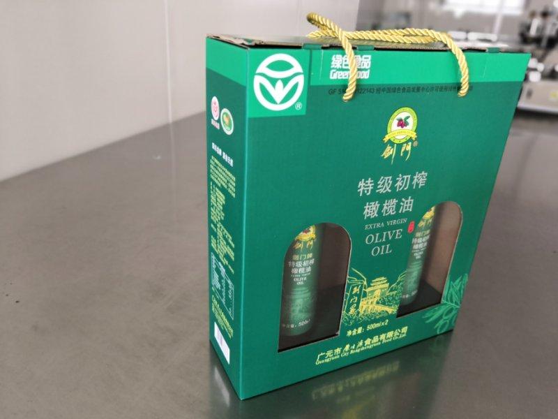 剑门情橄榄油500ml*2手提盒