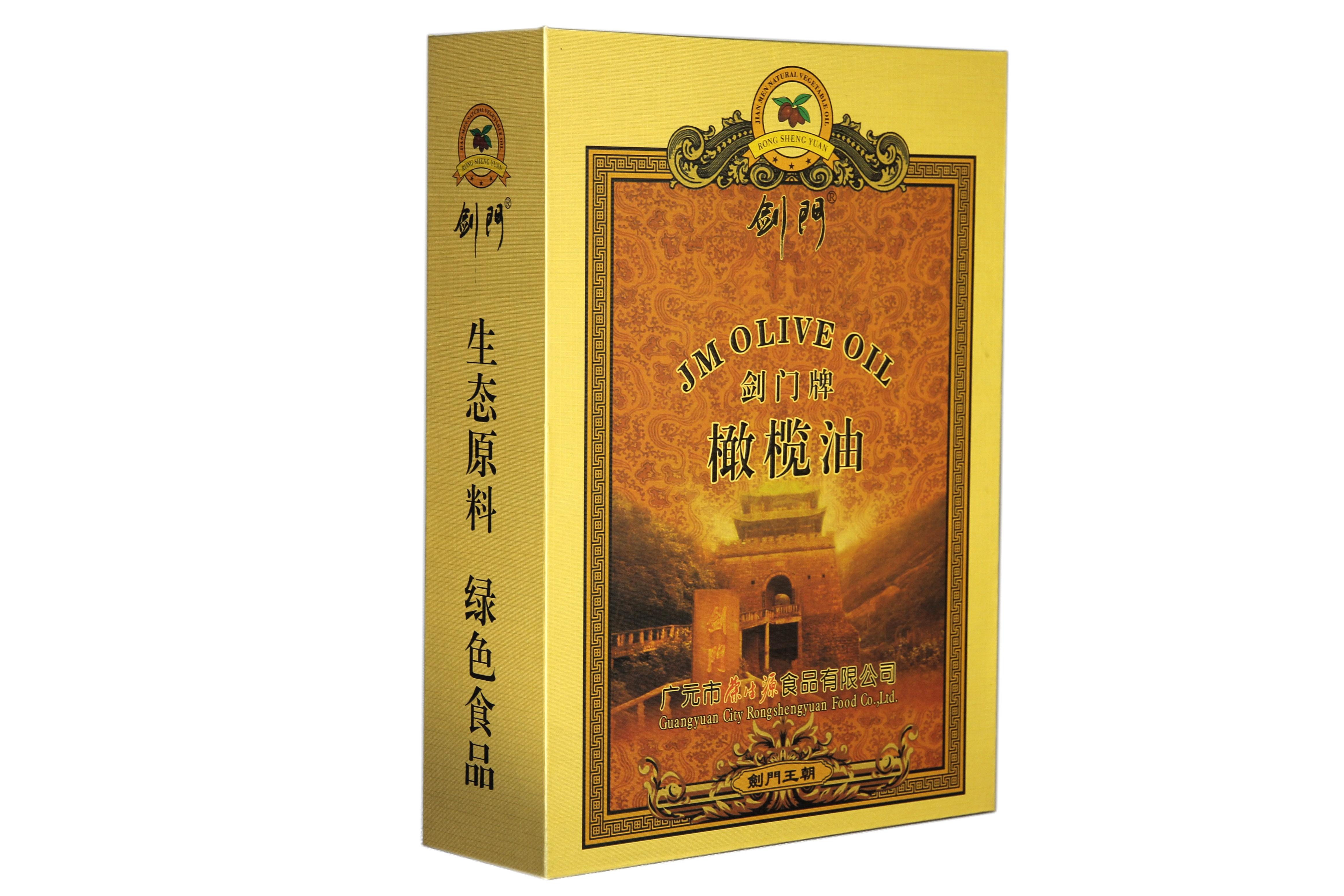 剑门王朝橄榄油礼盒496ml*2