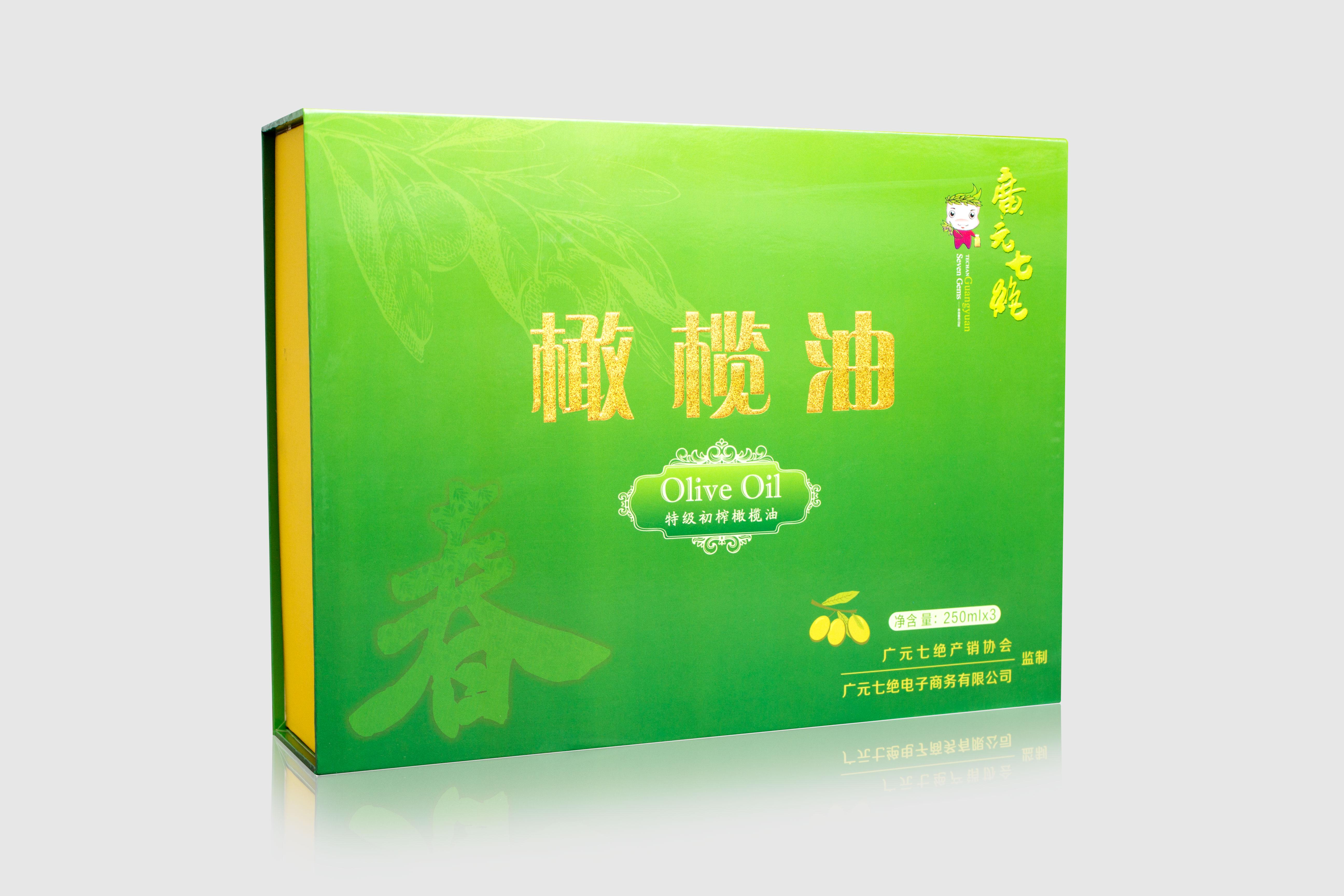 琉璃農场特级初榨橄榄油250ml*3春礼盒