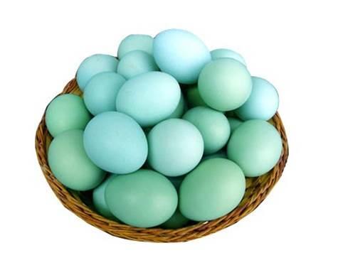 绿壳乌鸡蛋40枚